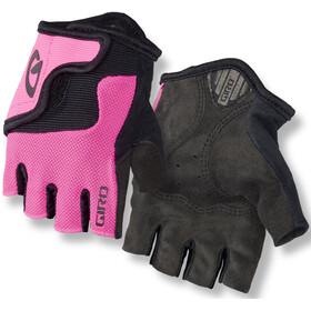 Giro Bravo Cykelhandsker Børn pink/sort